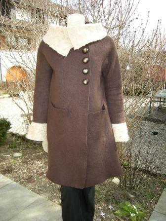 bauner Mantel von vorne