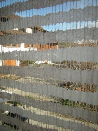 Streifen-Vorhang