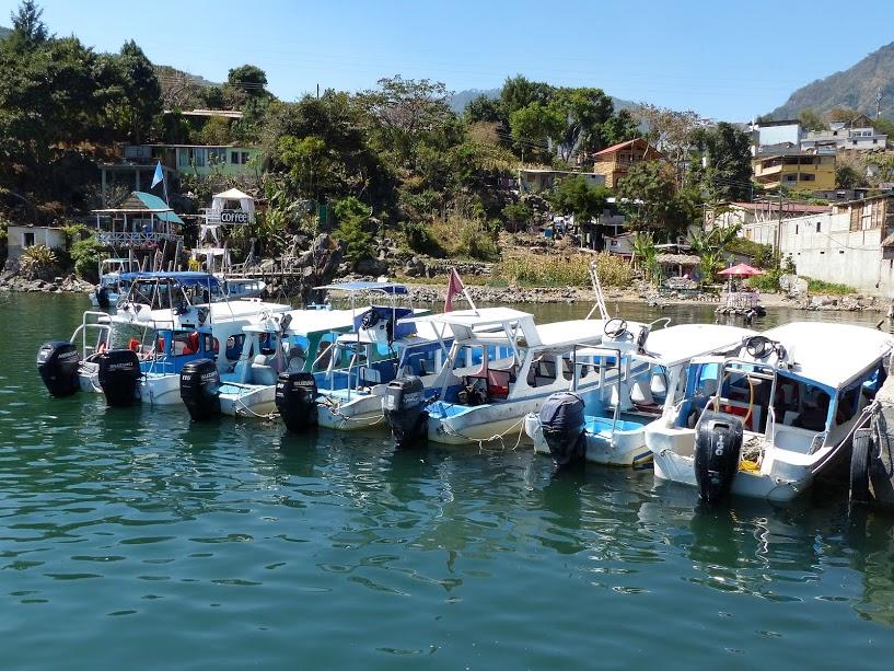 Lanchas Boote Atitlán-See