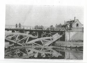 pont détruit en 1940