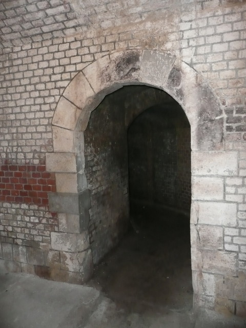 entrée du souterrain