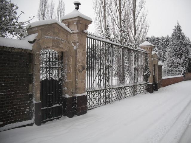 La maison de retraite, rue Gallez