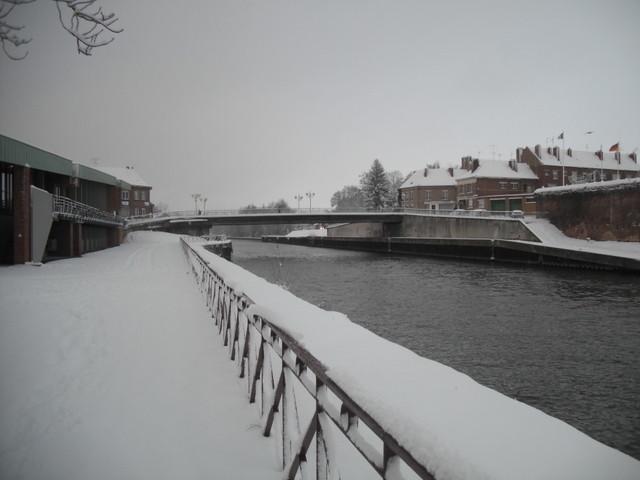 Le Pont, vu de la Médiathèque