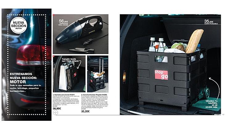 Nueva sección dedicada al motor de Avon en los catálogos hogar.