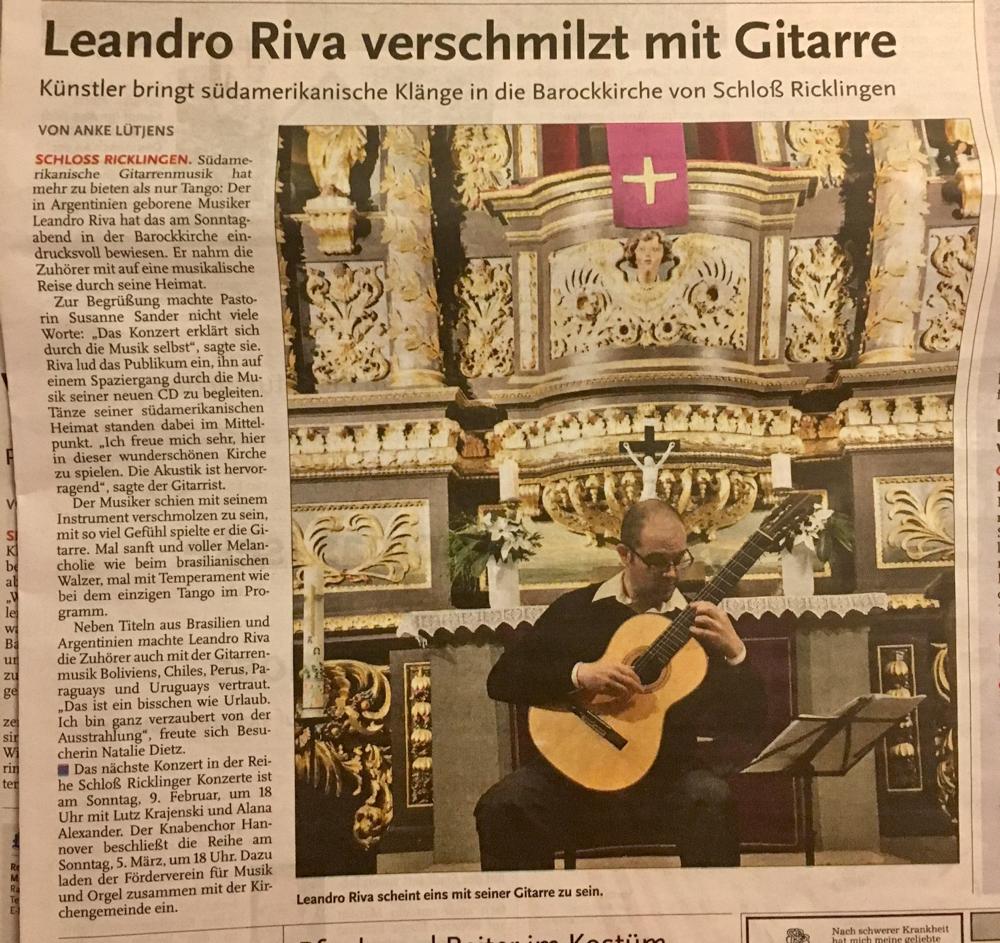 Leine Zeitung Garbsen, 29.11.16