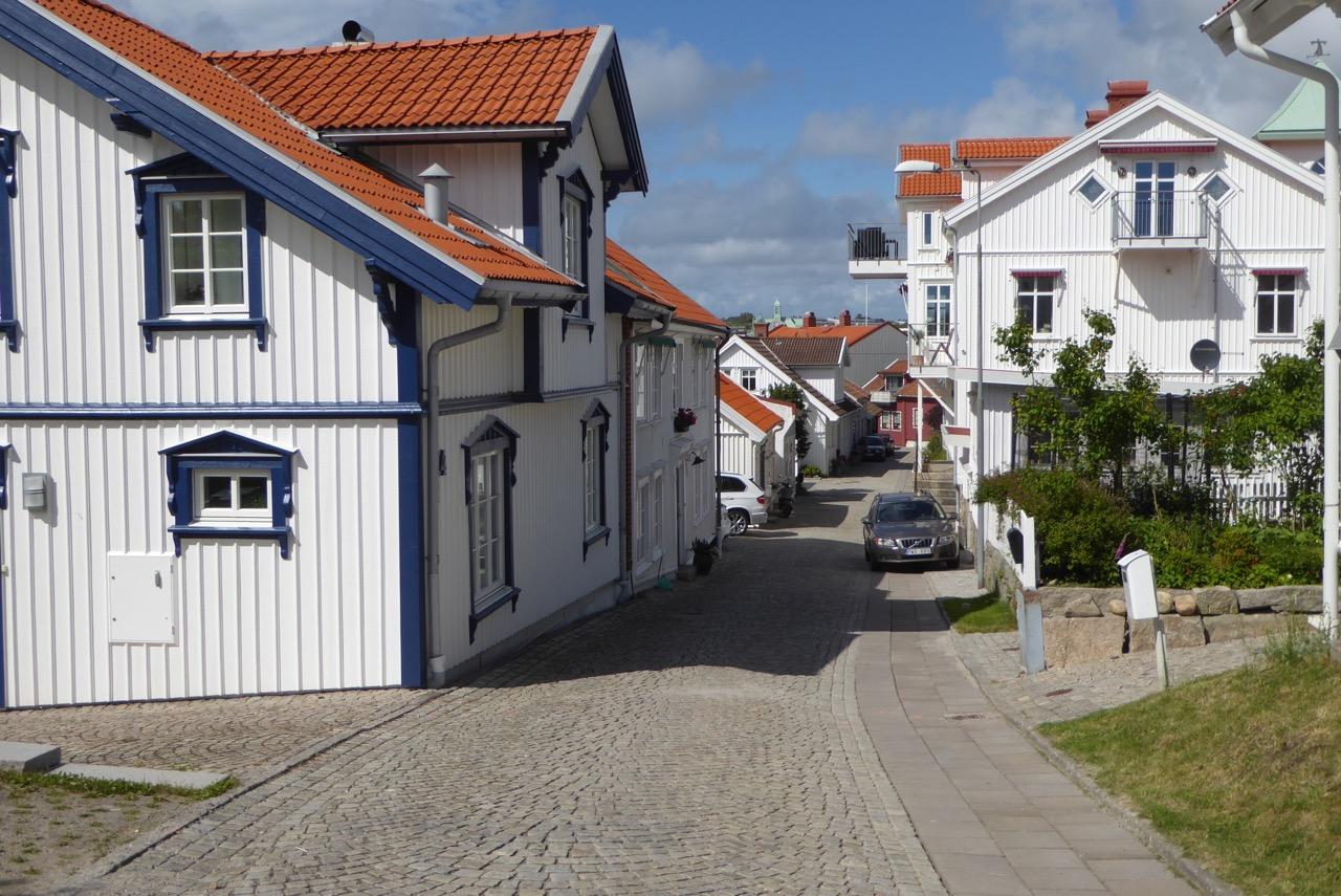 Strömstad Gasse Holzhäuser