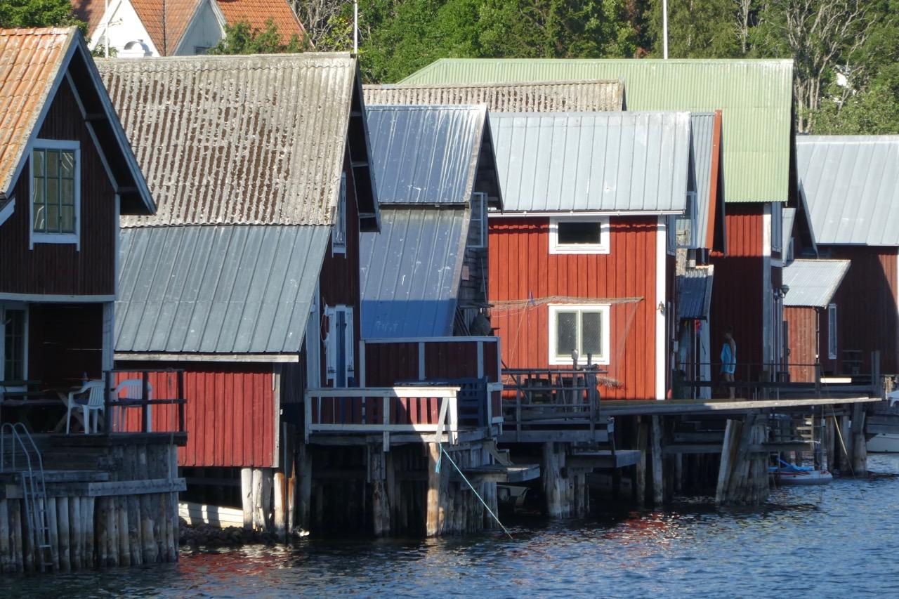 Ulvön Fischerhäuser
