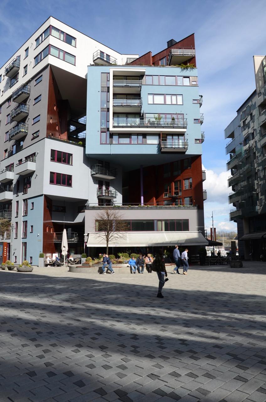 Oslo Aker Brygge NeubautenOslo Aker Brygge Renzo Piano