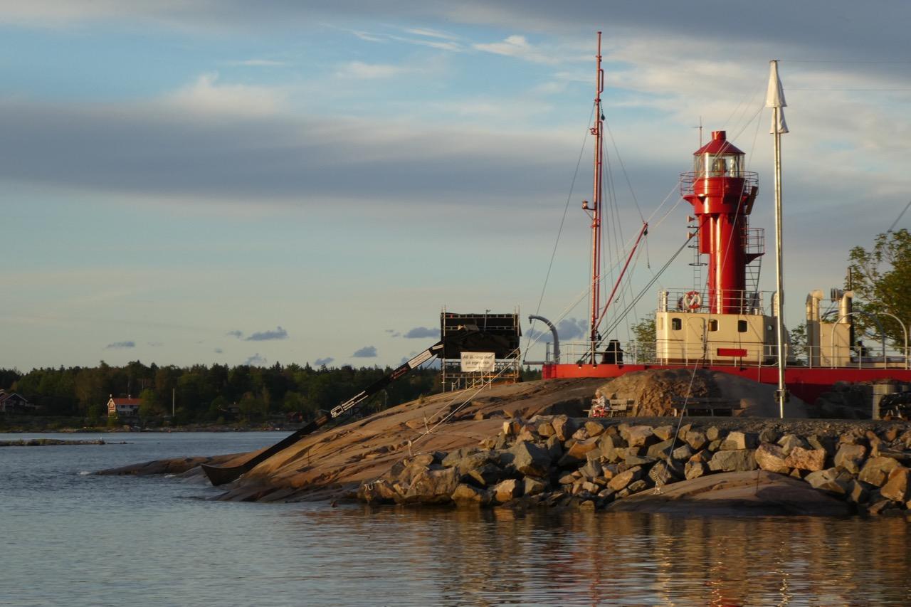 Öregrund Hafen