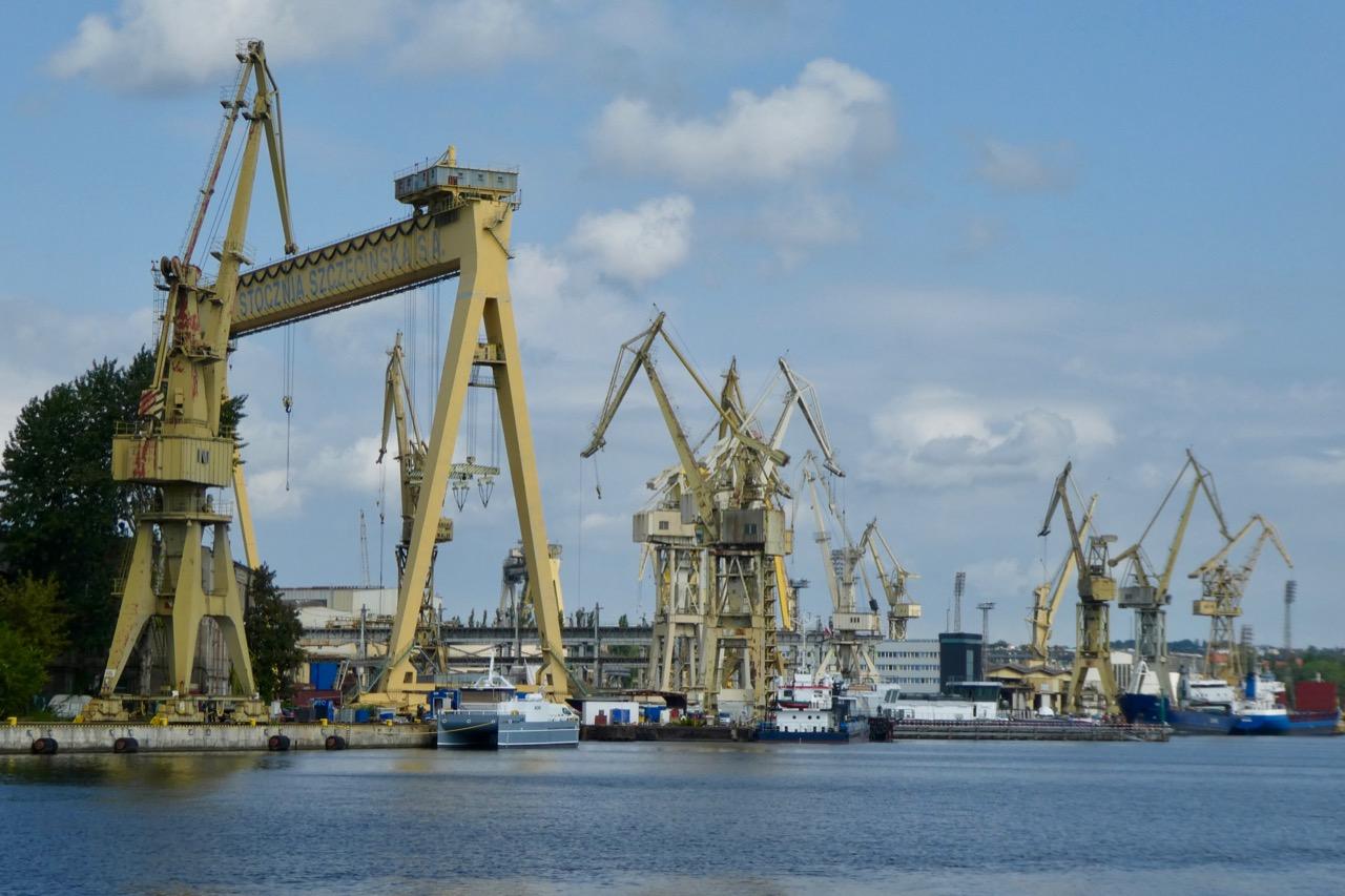 Stettin Hafen