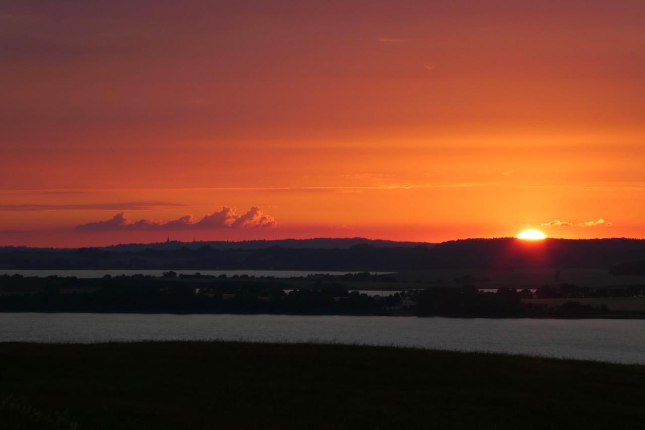 Grosser Zicker Sonnenuntergang