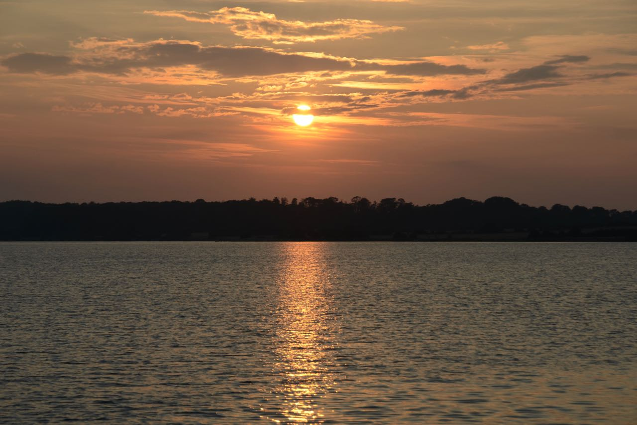 Dyvig Sonnenuntergang