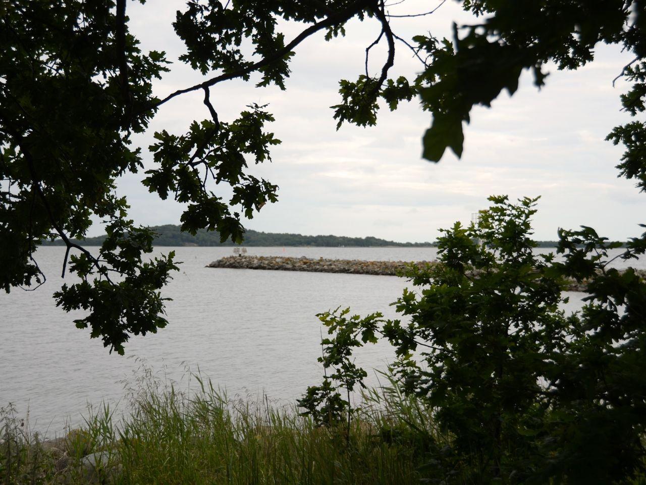 Insel Vilm Blick nach Rügen