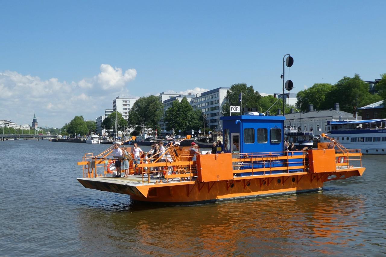 Turku Aurajoki Fähre