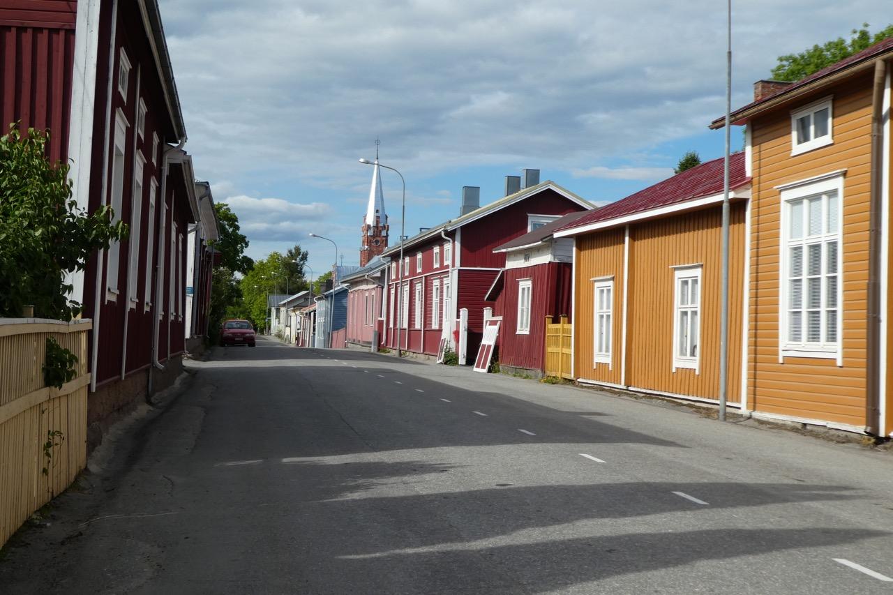 Krinstinestad Holzhäuser