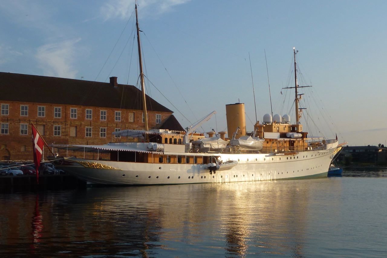 Sønderburg königliche Yacht