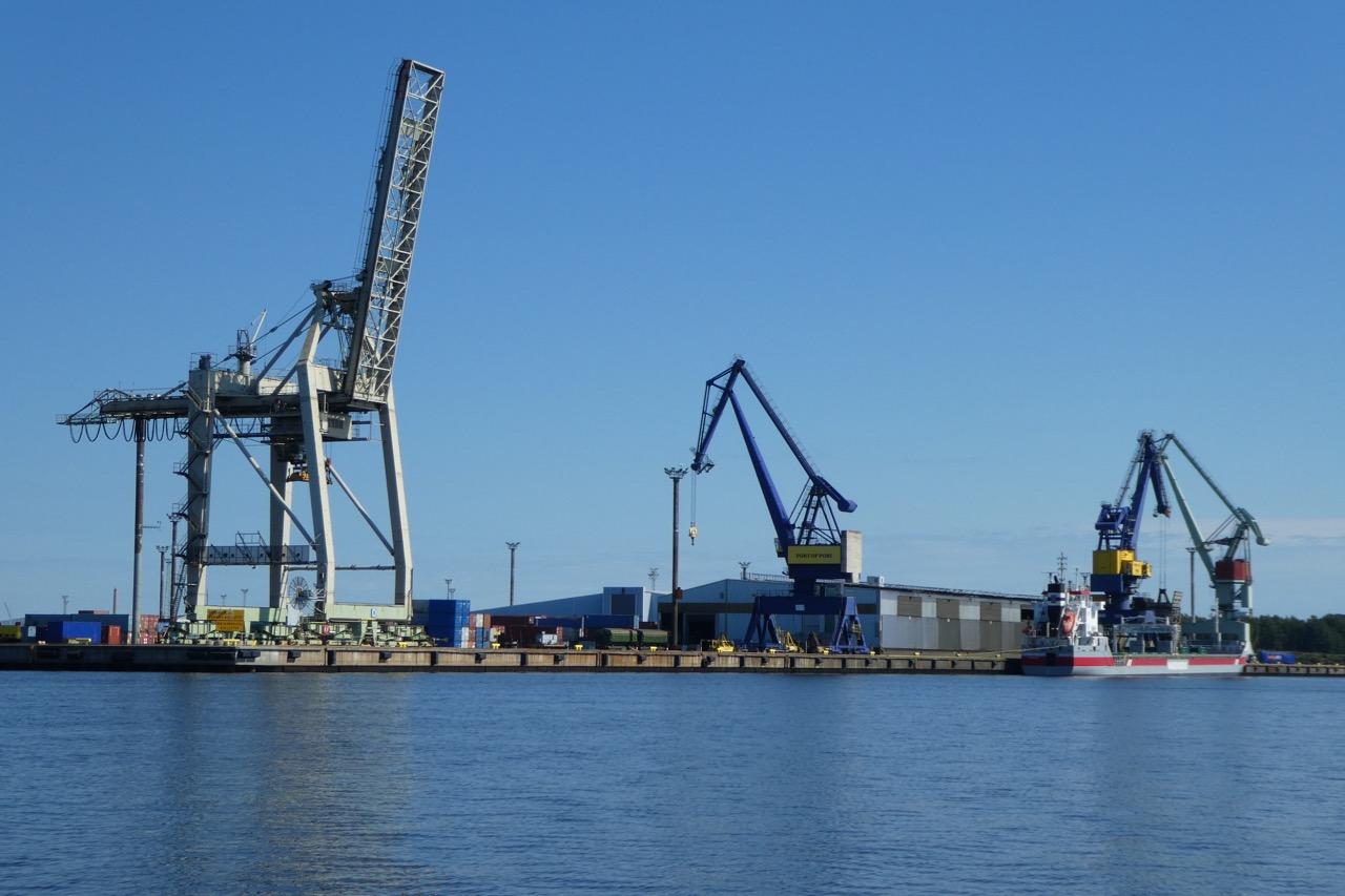 Reposaari Hafen