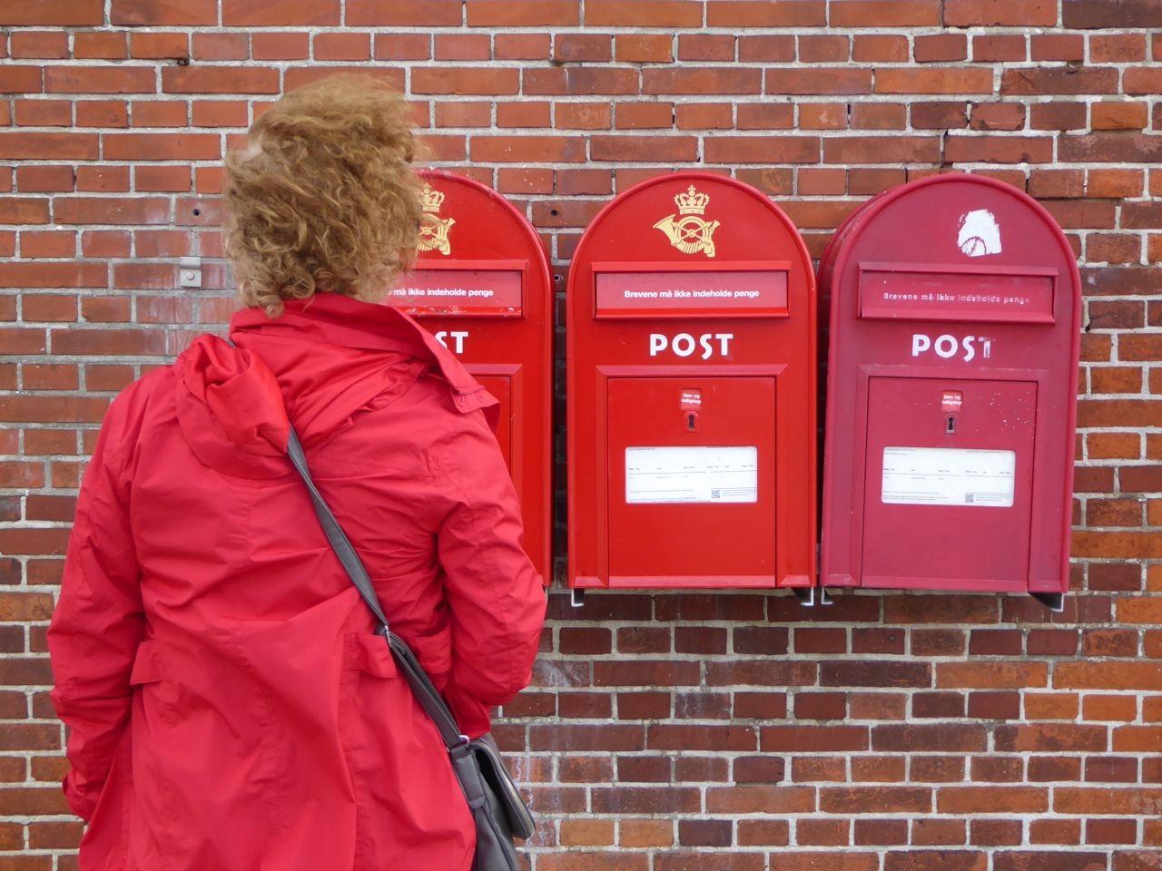 Faaborg - Warum 3 Briefkasten?