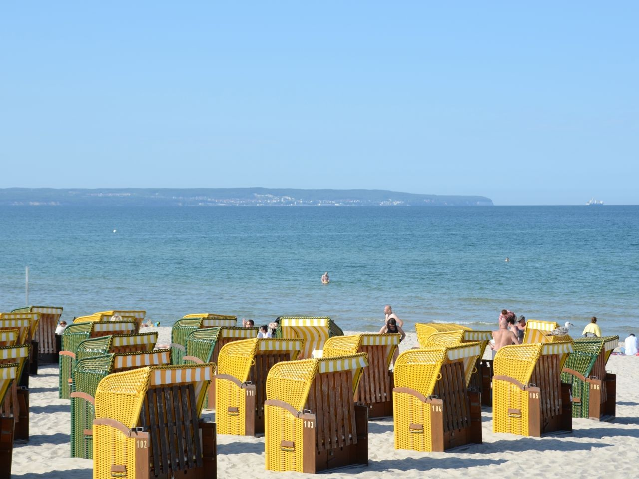 Binz Strandkörbe