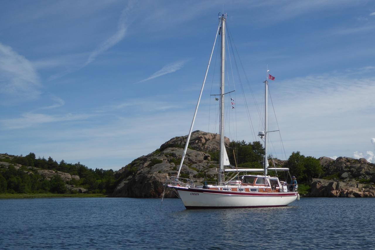 Kälvön Bucht Odin