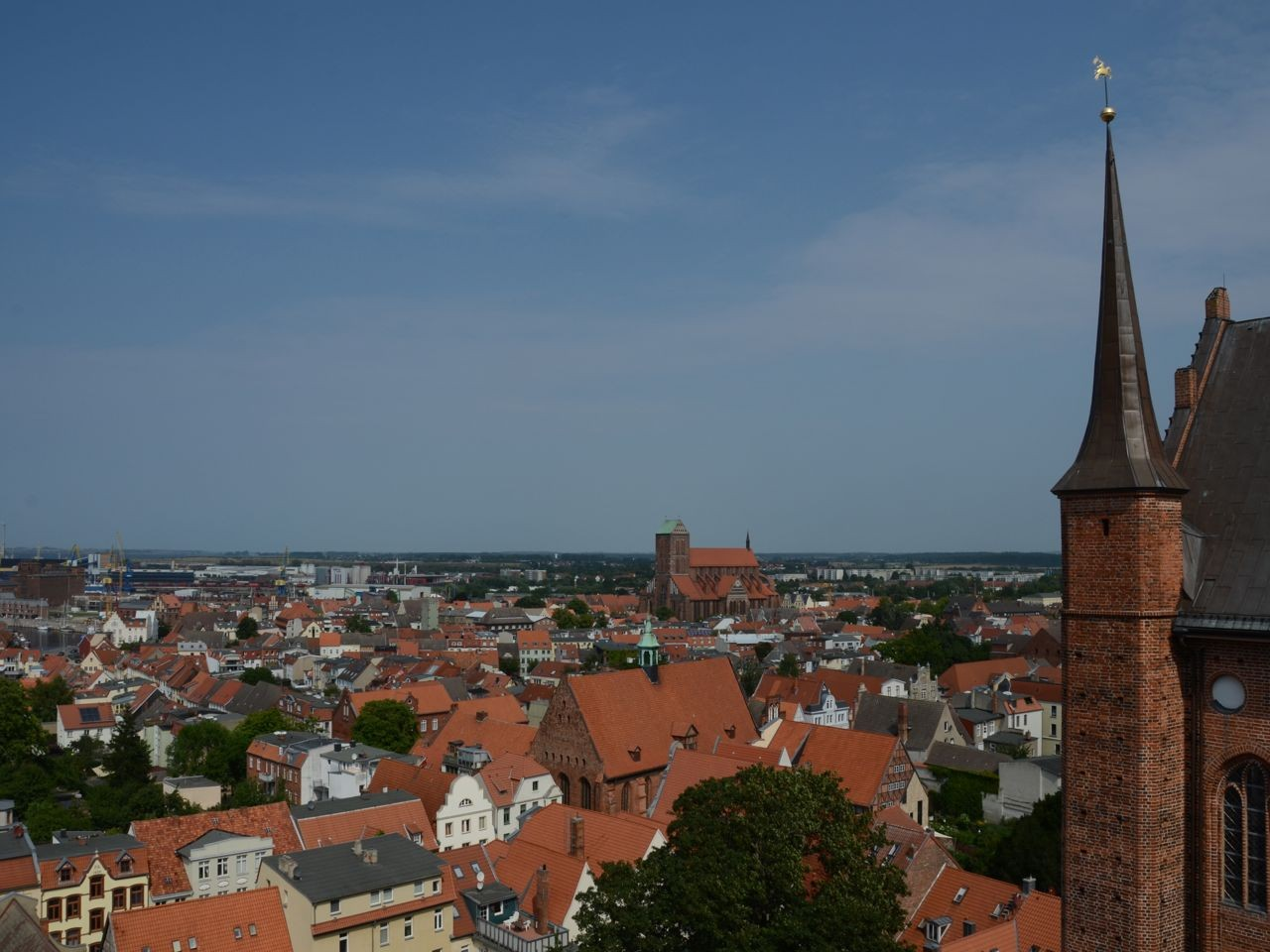 Wismar Stadtrundsicht