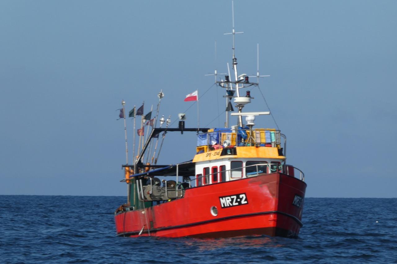 Bornholm Überfahrt Fischer
