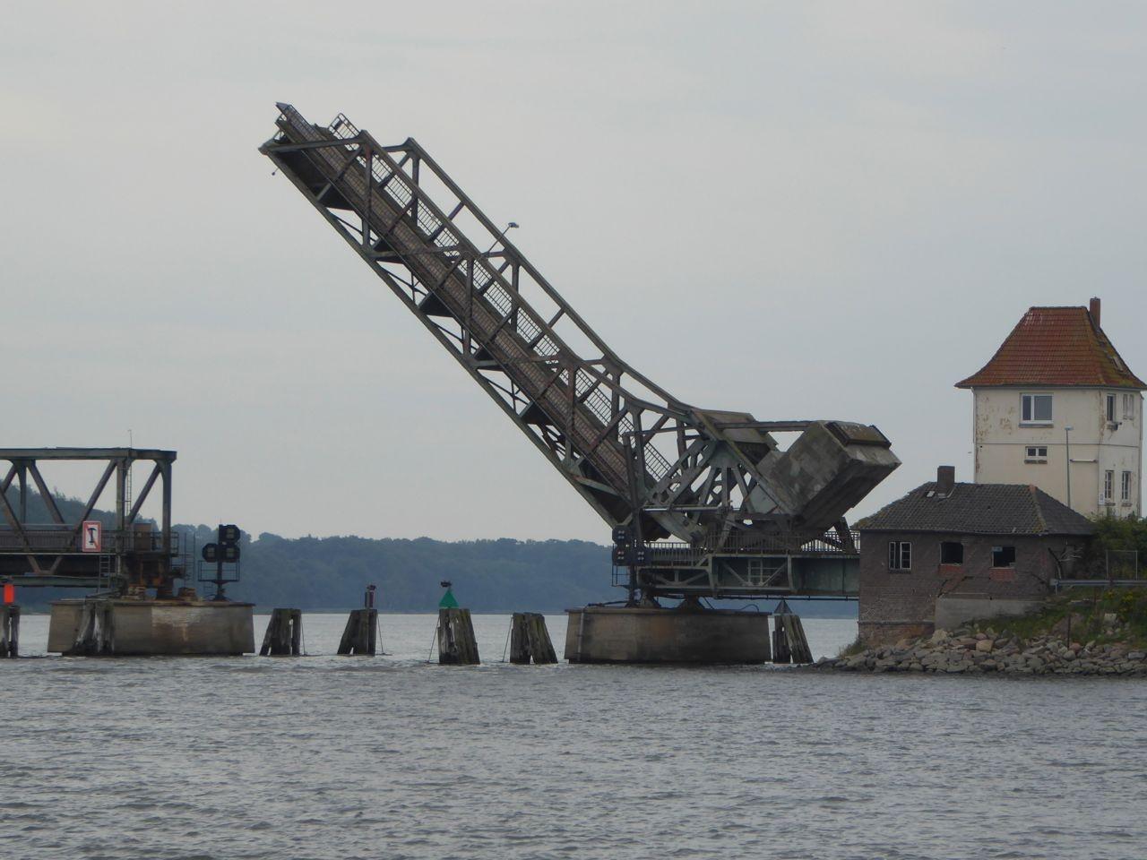 Schlei Brücke bei Lindaunis
