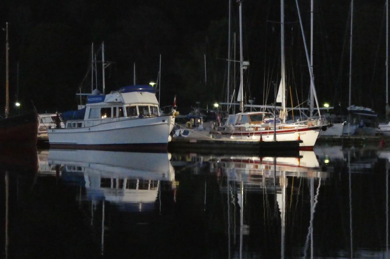 Nävekvarn Schären Nachthafen