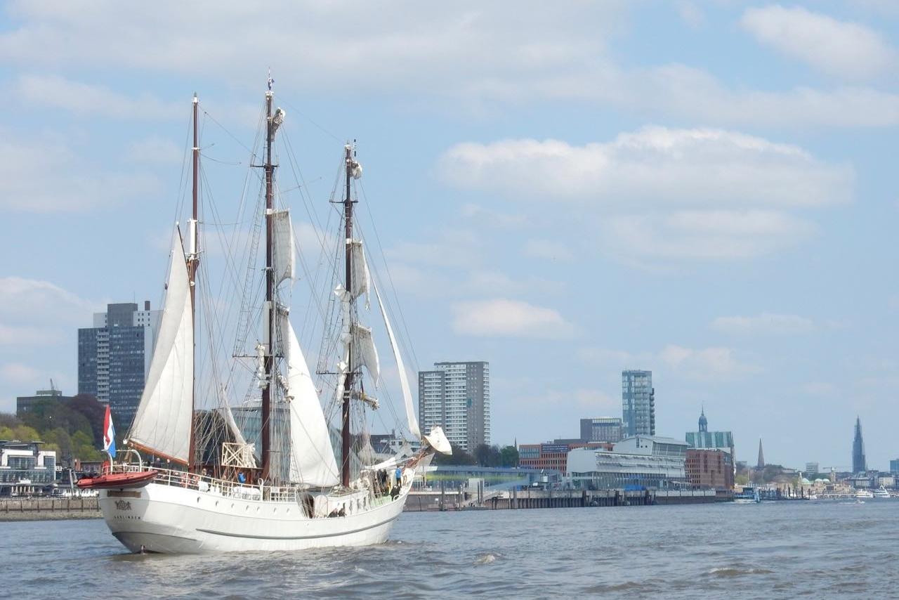 Auf der Elbe