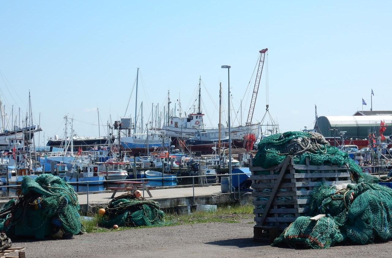 Gilleleye Hafen