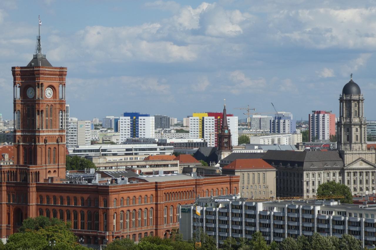 Berlin Domkuppel Aussicht