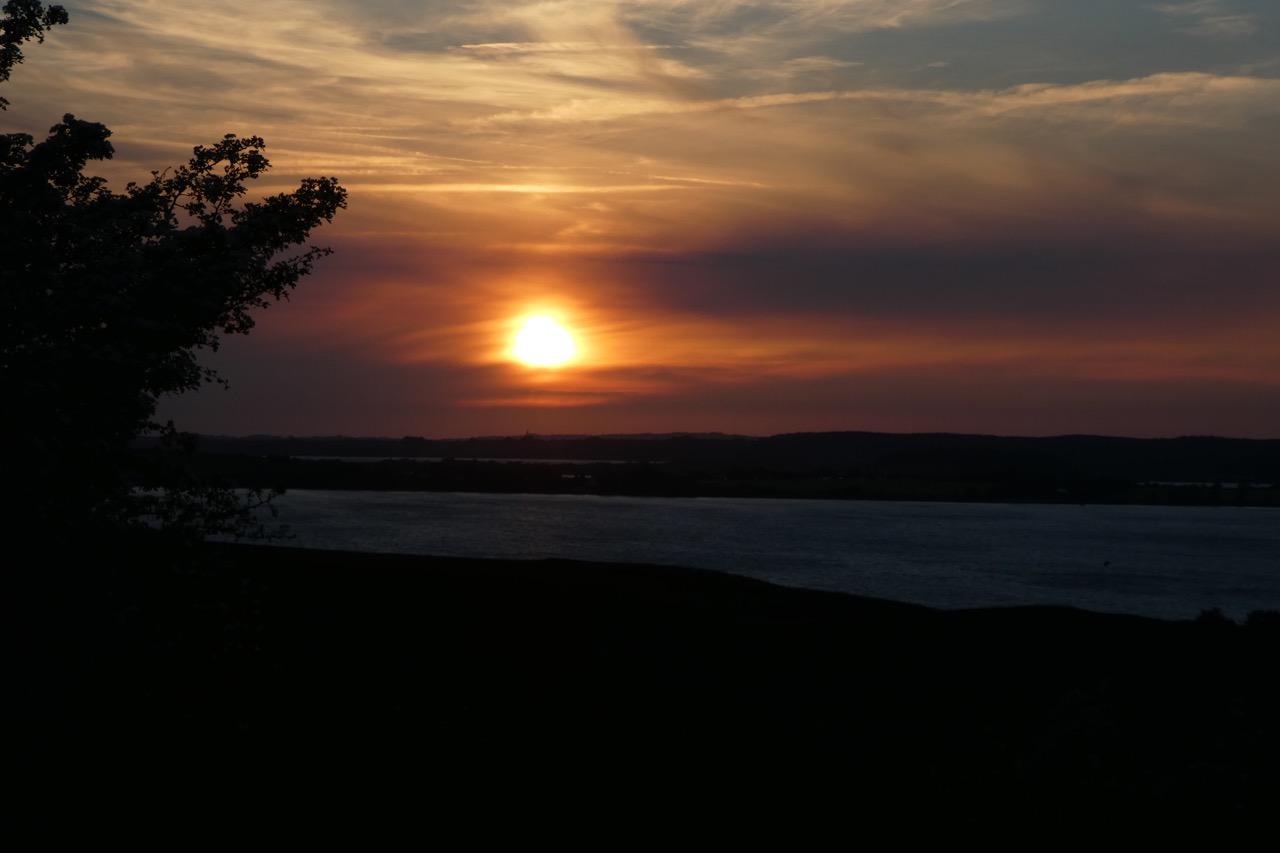 Gager Abendsonne