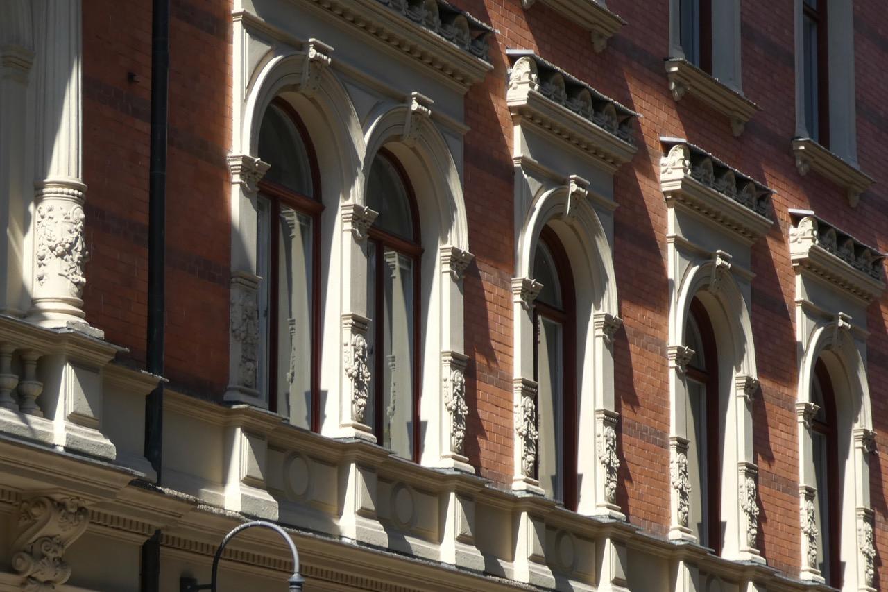 Sundsvall Häuser Fenster