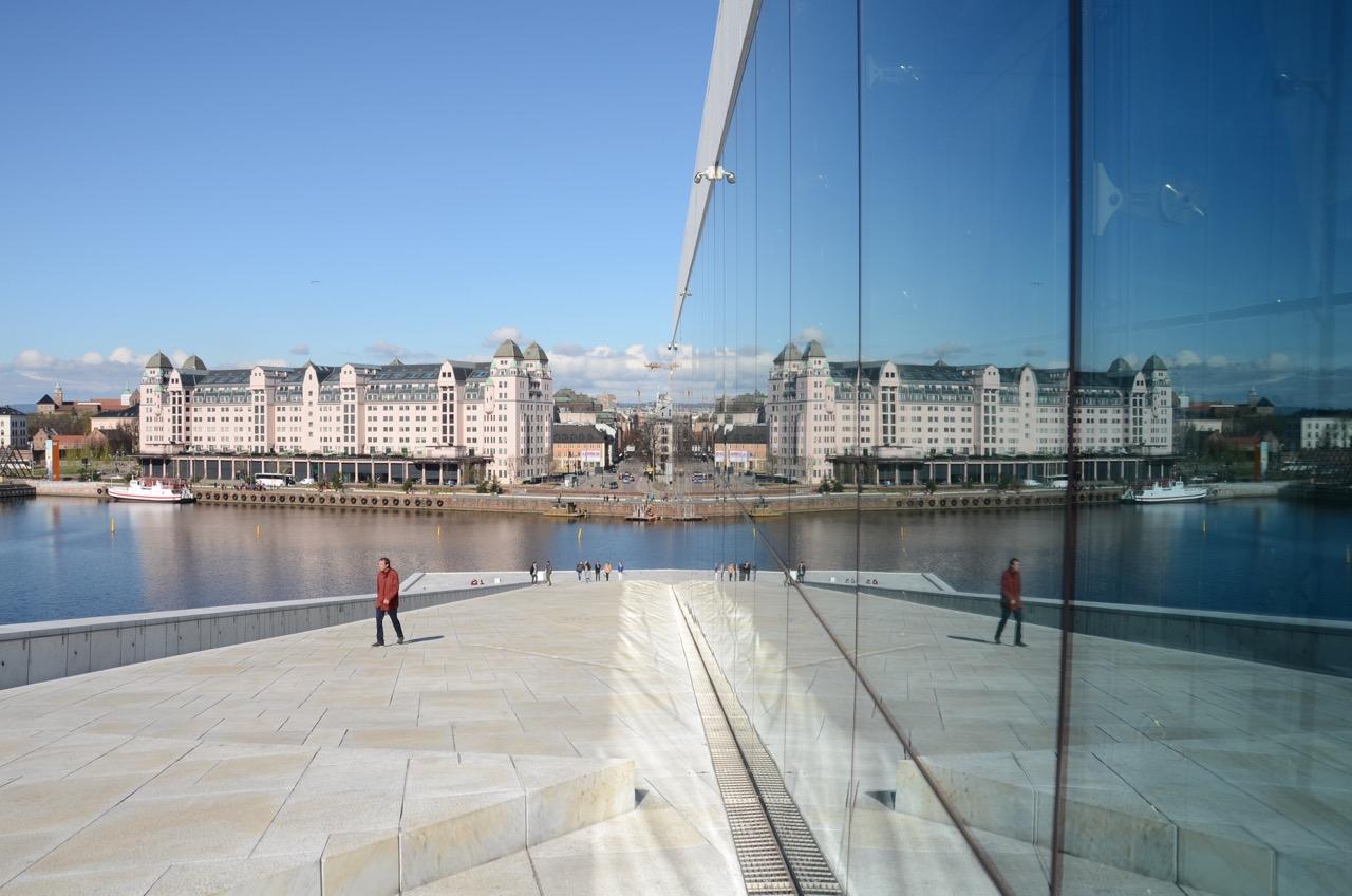 Oslo Oper Spiegelbild