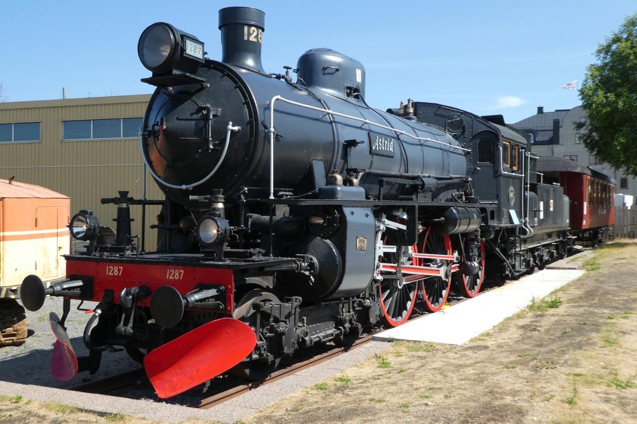 Harnösand Dampflokomotive