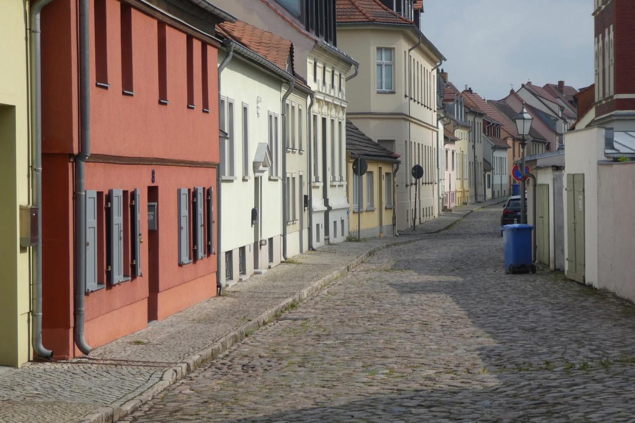 Werder farbige Häuser