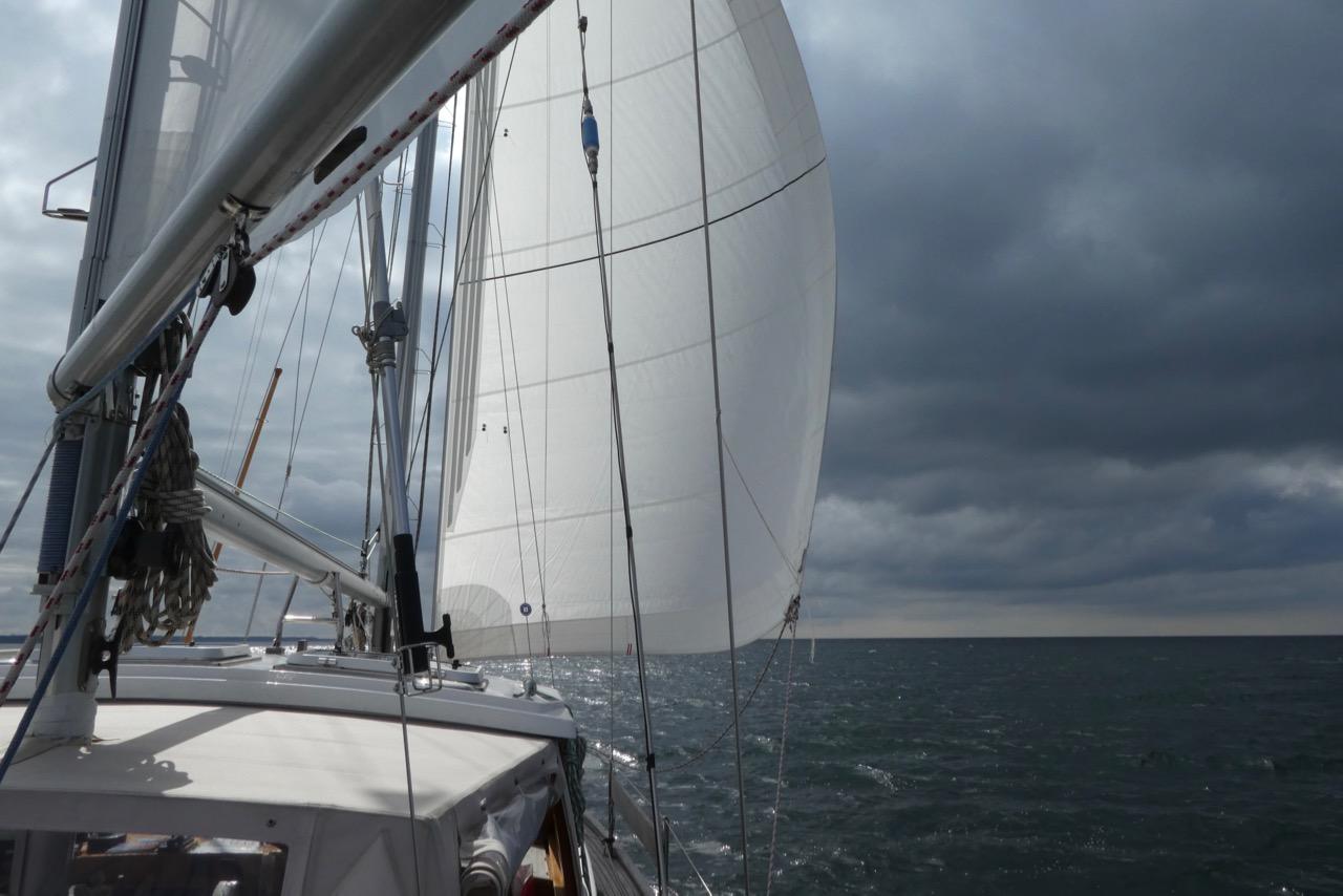 Überfahrt Bornholm Odin segeln