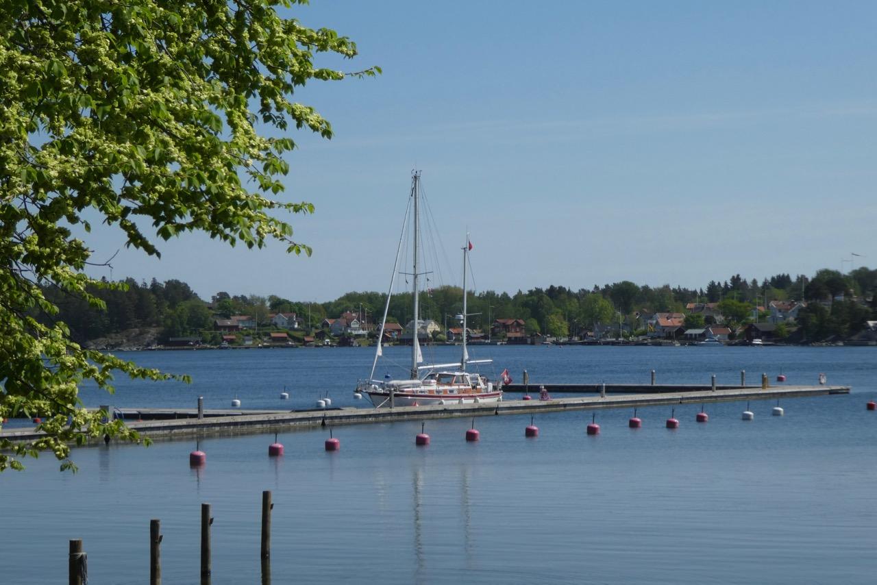 Furusund Hafen Odin