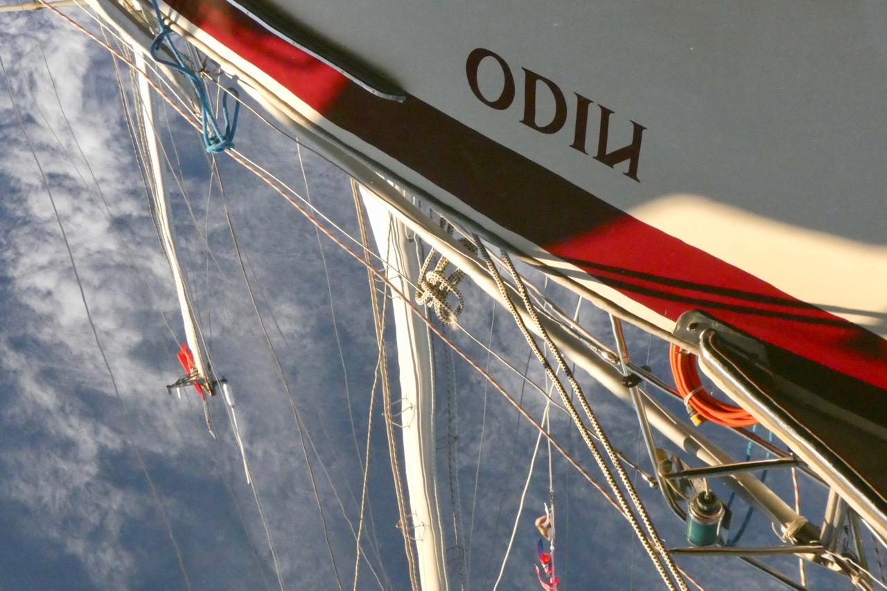 Sikea Bucht Odin Spiegelbild