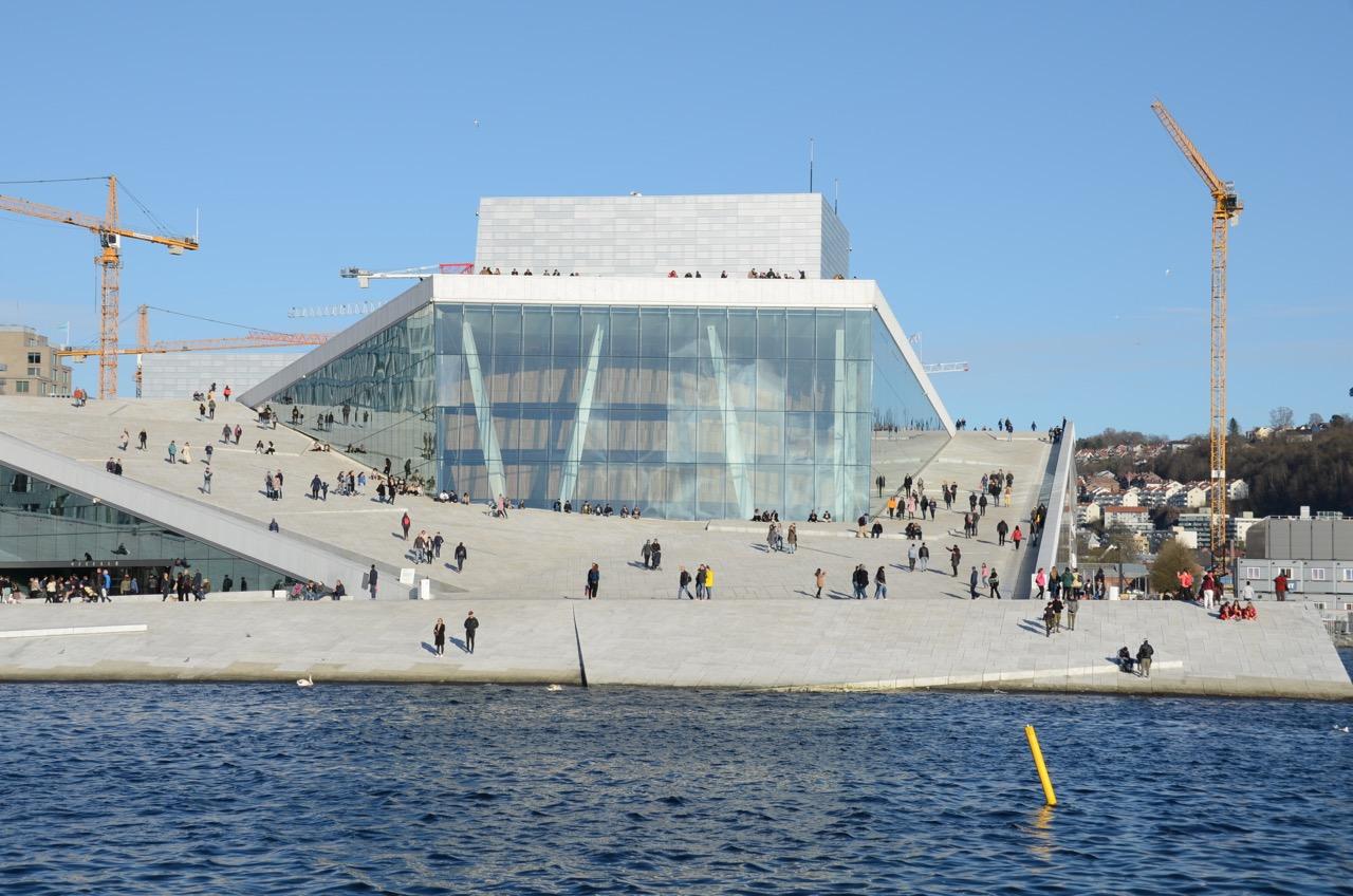 Oslo Oper Übersicht