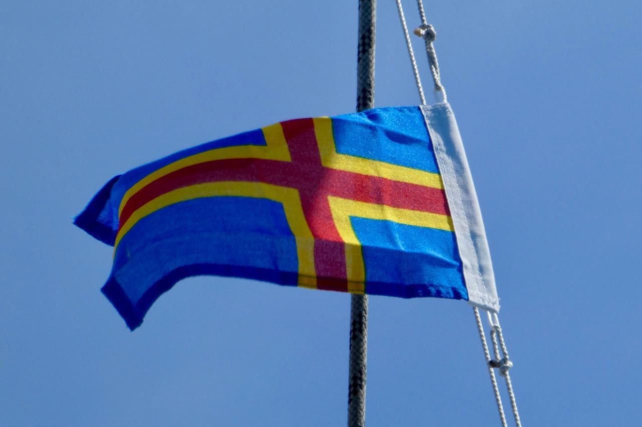 Gastlandflagge Aaland