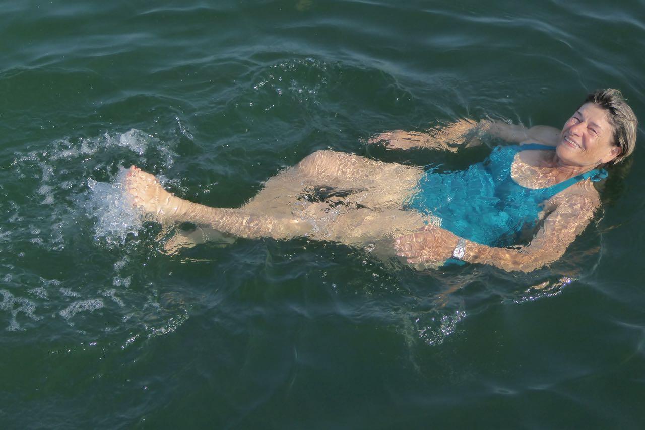 Lille Belt Marlies schwimmen