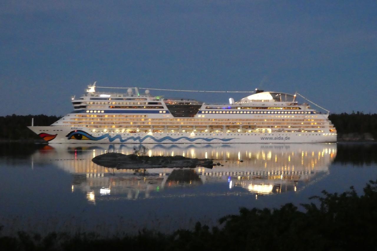 Furusund Aida Kreuzfahrtschiff