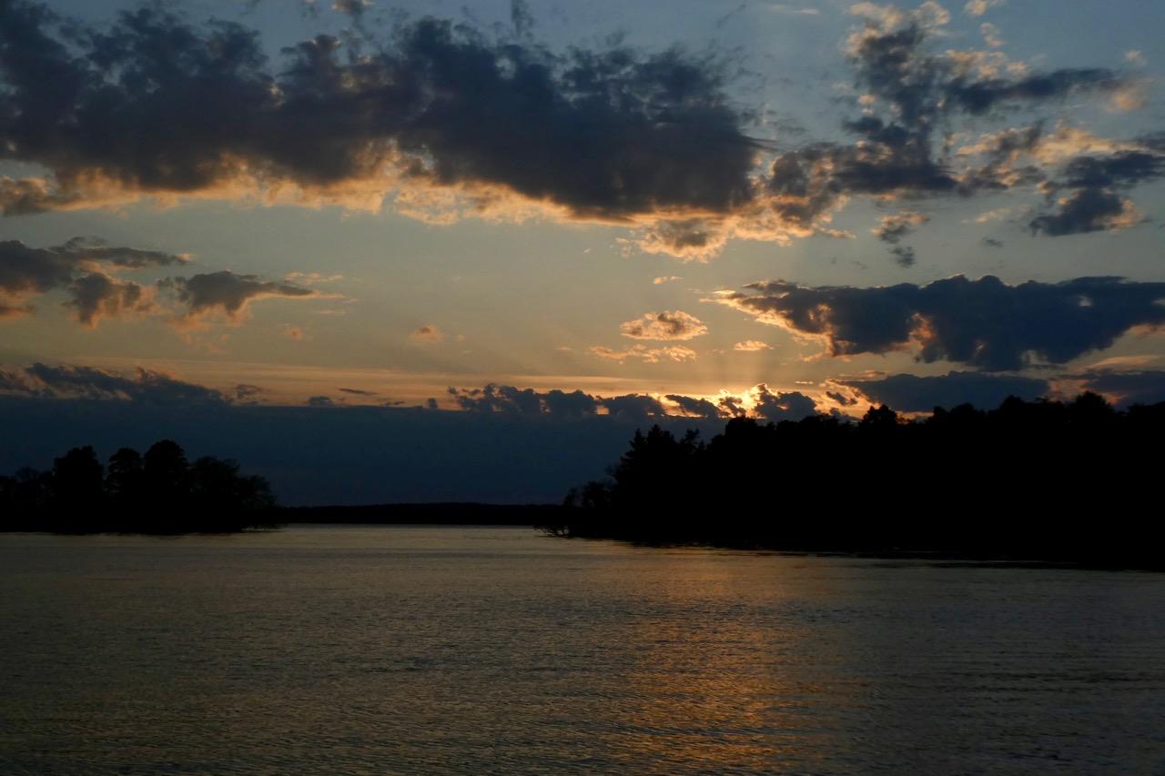 Stendörren Sonnenuntergang