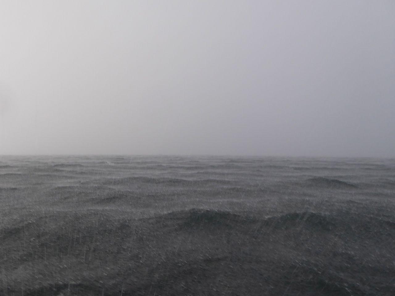 Ostsee Schauerböe