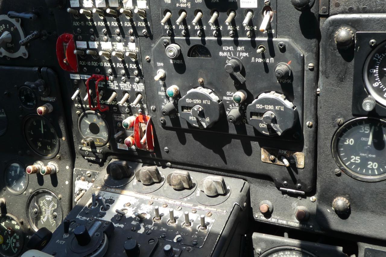 Heringsdorf Antanow Cockpit
