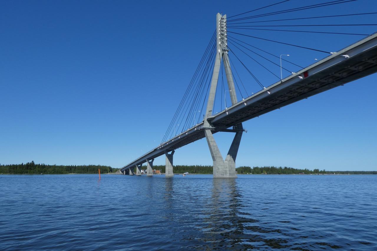 Vaasa die längste Brücke