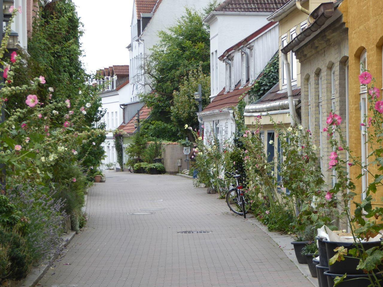 Flensburg Kapitänsgasse