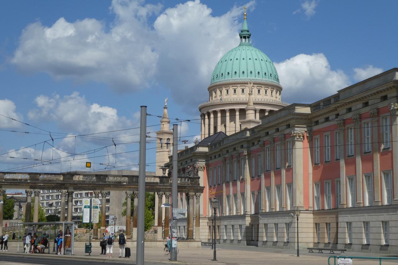 Potsdam Schlossrekonstruktion