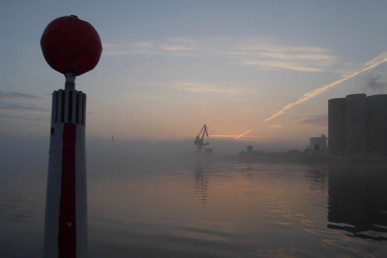 Limfjorden mit Nebelausfahrt